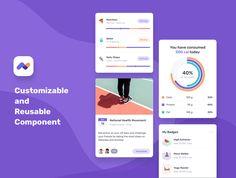 Mobile UI Kit Health Fitness on Behance