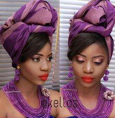 Attaché foulard gélé headwrap ~African fashion, Ankara, Kente, kitenge, African women dresses, African prints, African men's fashion, Nigerian style, Ghanaian fashion ~DKK