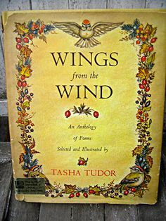 Vintage Tasha Tudor book Wings from the Wind by LittleBeachDesigns, $34.00
