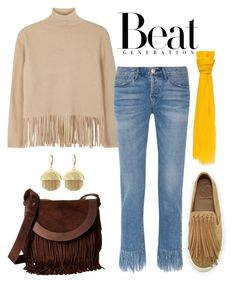 """""""Beat It!"""" by schenonek ❤ liked on Polyvore featuring Frye, Boutique Moschino, Tory Burch, 3x1 and Vince Camuto"""