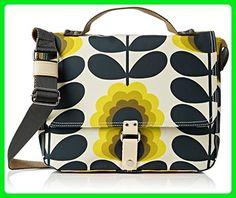 Orla Kiely Summer Flower Stem Satchel, Sunshine - Shoulder bags (*Amazon Partner-Link)