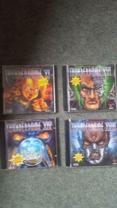 Job lot 4x Thunderdome CDs - All Special German Edition Arcade gabber hardcore