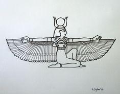 Pix For > Egyptian Goddess Drawing