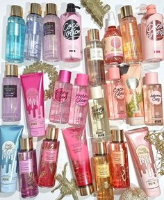 Pink Sugar Perfume, Clear Skin Face Mask, Perfume Organization, Bath And Body Works Perfume, Edgy Nails, Perfume Collection, Smell Good, Beauty Care, Fragrance