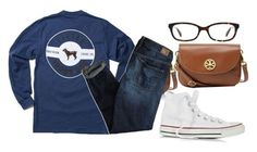 """""""Wooo woop"""" by ava-navarrrroo ❤ liked on Polyvore featuring Tory Burch, Converse, American Eagle Outfitters and Kate Spade"""