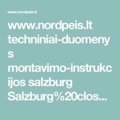 www.nordpeis.lt techniniai-duomenys montavimo-instrukcijos salzburg Salzburg%20closed.PDF