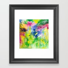 Buy Garden Palette Framed Art Print by rosiebrown. Worldwide shipping available at Society6.com. Just one of millions of high quality products available.