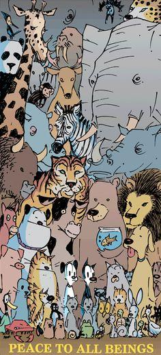 Mutts Comic - Earl, Mooch Animals