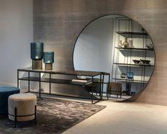 Oversized Mirror, Entryway Tables, Iron, Furniture, Black Marble, Geneva, House Ideas, Design, Home Decor