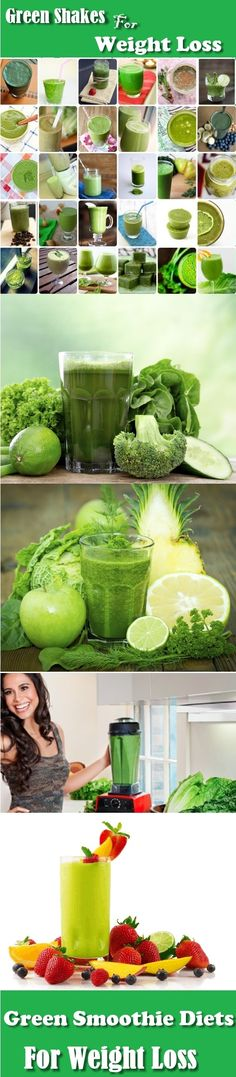Green Smoothie Diets For Weight Loss
