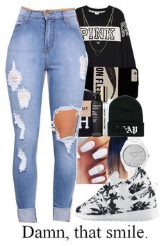 """""""Untitled #308"""" by wma0411 ❤ liked on Polyvore featuring Victoria's Secret PINK, MICHAEL Michael Kors, Michael Kors, Charlotte Russe, NIKE, Living Proof, women's clothing, women, female and woman"""