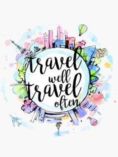 Travel Advice, Travel Quotes, Mad Design, Travel Drawing, Halloween Drawings, Travel Wallpaper, Travel Themes, Cute Stickers, Doodle Art