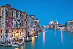 View from Accademia Bridge, Venice by ditanandana, Flickr