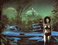 Retro-Futuristic Art by Jim Burns