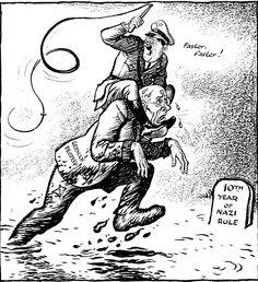Caricature de Leslie Illingworth paru dans le Daily Mail le 30 janvier 1943