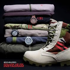 b36940fd78889 #watches #hoodies #doublered #army #armystyle #armyboots #camuflage #camo