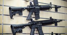 Couple buys baby bouncer at Goodwill finds semi-automatic rifle inside