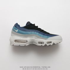 Fsr Nike Air Max 95 Vintage Air Jogging Shoes White Gradient Blue 5553fd514