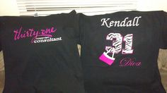 Thirty one 31 Independent Consultant Shirt with Name by ATSGraphix, $20.00