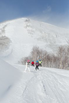 Bluebird days await on the mountain in Sahoro, Japan, where fresh powder is on offer daily. Families can explore the slopes together, with runs to help the little ones perfect their snow plough.