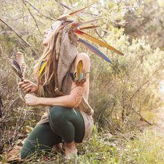 Amazing feather headpiece...  Buy on etsy: www.etsy.com/featheredandfree  Follow us on facebook: www.facebook.com/featheredandfree