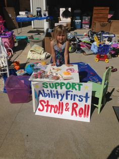 Newport Mesa Center's Stroll & Roll team. Neighbors going the distance in support of the AbilityFirst Stroll & Roll.
