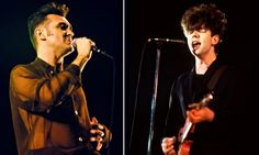 Morrisey and Ian McCulloch of Echo & the Bunnymen