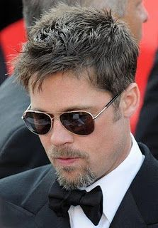 Brad Pitt's signature messy hair | Kenra Professional Men's Hairstyle Inspiration