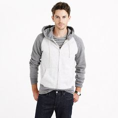 The full-zip hoodie has slowly become one of the foundations for the everyman's wardrobe. It works great under almost every jacket, as a casual cardigan on the back of the office chair and as the item most stolen by significant others. We make ours the old-fashioned way, in 100 percent cotton with pockets—just the way every guy (and girlfriend) has liked them for years. <ul><li>Cotton.</li><li>Rib trim at cuffs and hem.</li><li>Slant pockets.</li><li>Machine wash.</li><li>Import.</li></ul>