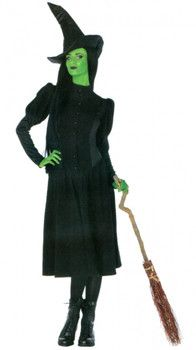 Adult Elphaba Witch Costume - Wicked