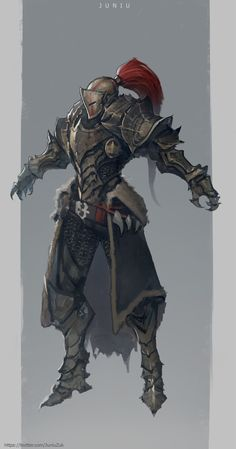 ArtStation - Dragon Slayer concept, Ben Juniu