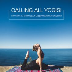 We are looking for some great new yoga music! If you have a playlist you would like to share DM us on Facebook! #Yoga #Yogi #YogaPlaylist