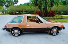 The AMC Pacer! we used to have one of these
