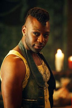 Lafayette! Will someone please give this guy an Emmy...(yes, please, he deserves)