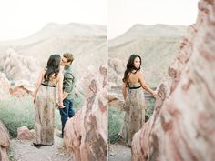 I'd love to shoot an engagement session in the desert.