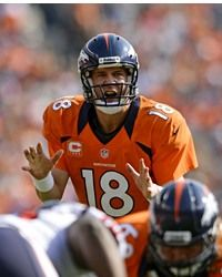 Peyton Manning  #18 QB - Denver Broncos