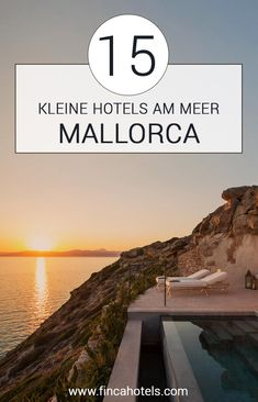 Mallorca - Top 15 small hotels by the sea - insider tips for your vacation on the beach. Beach holiday in Mallorca - but if you don't feel like a big hotel, look for the needle in a haystack. That's why we took a look around Mallorca for yo Hotel Am Strand, Hotel Am Meer, Hotel Mallorca, Romantic Breaks, Famous Beaches, Reisen In Europa, Beaches In The World, Beach Holiday, Beach Trip