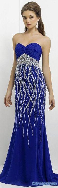 elegant prom dress prom gowns #prom #dresses