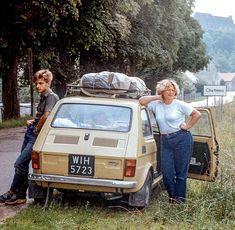 Samochód dla Kowalskiego - z Bielska-Białej i Tychów. Fiat 500, Mk1, Nostalgia, Car Polish, Old Advertisements, Old Street, Classic Motors, Cool Countries, Retro Cars