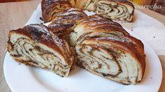 Kysnutý+medovo-orechový+veniec+(videorecept) Strudel, Banana Bread, Cooking, Food, Basket, Kitchen, Essen, Meals, Yemek