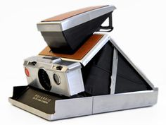 Polaroid camera, also great video about it from the 1970s at http://www.youtube.com/watch?v=5jaiq_ZZ_eM