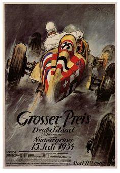 Grosser Preis Von Deutschland fur Rennwagen (by paul.malon) Theo Matejko, 1934