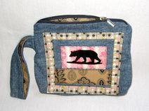Bären Tasche Jeans