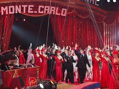 Our last day at the Monte Carlo's Festival of Circus and all the fabulous artistes including the Ringmaster, Petit Gougou as Monsieur Loyal,...