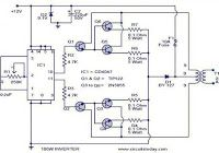 3000 Watt Inverter Circuit Diagram to complete pcb layout design. High power inverter circuit diagram see here for more information. Ac Circuit, Circuit Diagram, Diy Electronics, Electronics Projects, Electronic Schematics, Electronic Circuit, Electronic Engineering, Battery Charger Circuit, Step Down Transformer