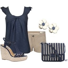 Everyday Outfits - in the navy