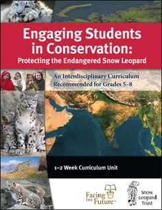 Engaging Students in Conservation | Science & Social Studies Curriculum | Facing the Future | Sustainability Education Curriculum | Facing the Future