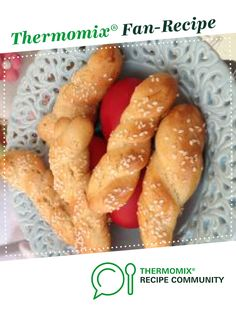 Recipe Koulourakia - Greek Easter biscuits by ginisann, learn to make this recipe easily in your kitchen machine and discover other Thermomix recipes in Baking - sweet. Easter Biscuits, Afternoon Tea Recipes, Greek Easter, Recipe Community, Gluten Free Cookies, Food N, Bellini, Fitness Nutrition, Sweet Recipes
