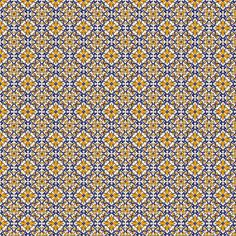 Lisbon Portugese tiles - pattern made by me in sale at Etsy shop Atocks