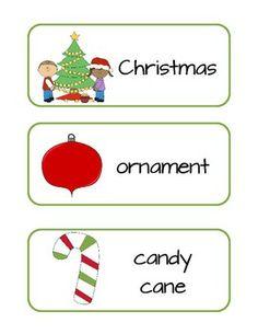 FREE!  Christmas Words